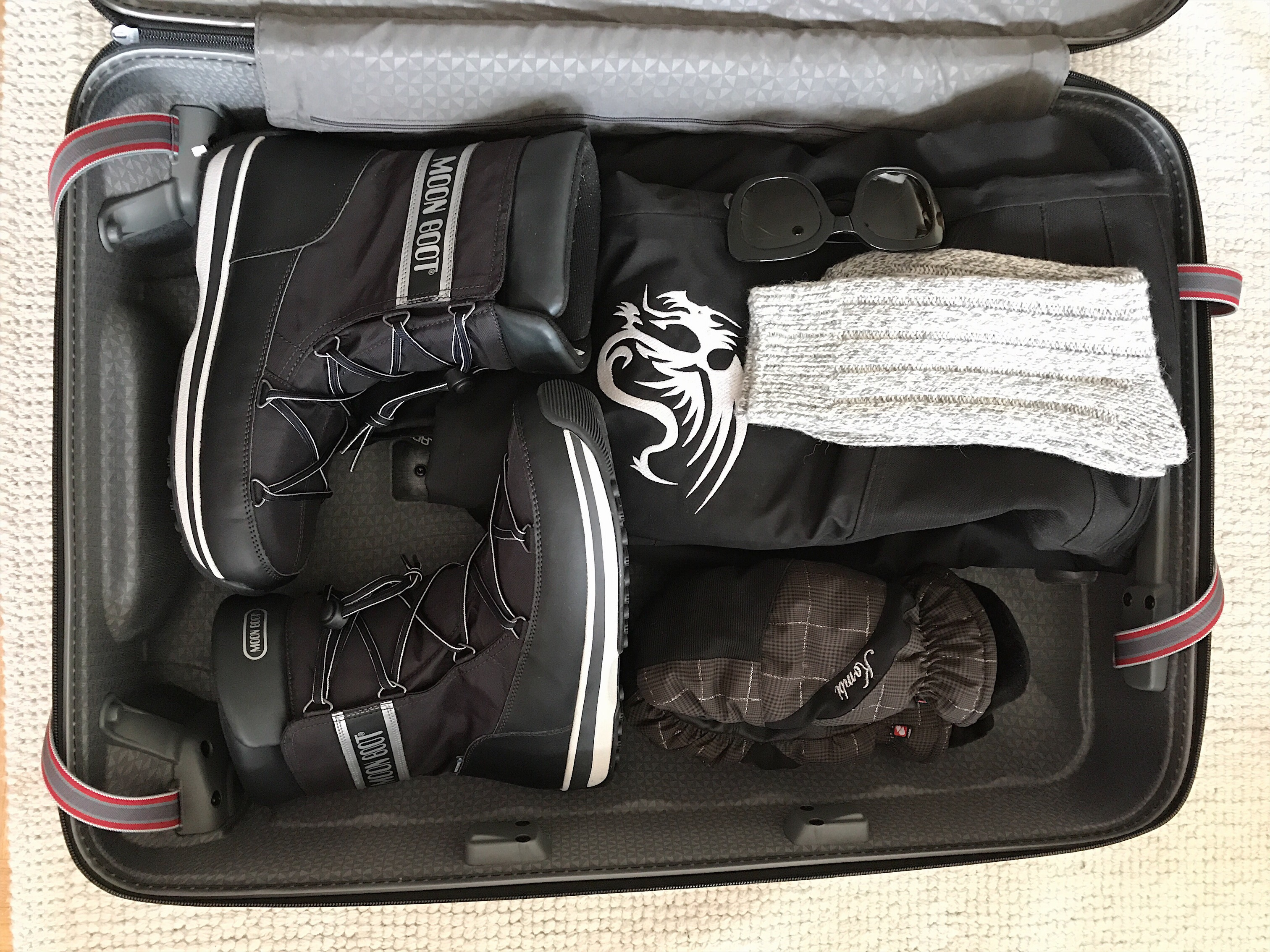 Packing for the coolest destintion