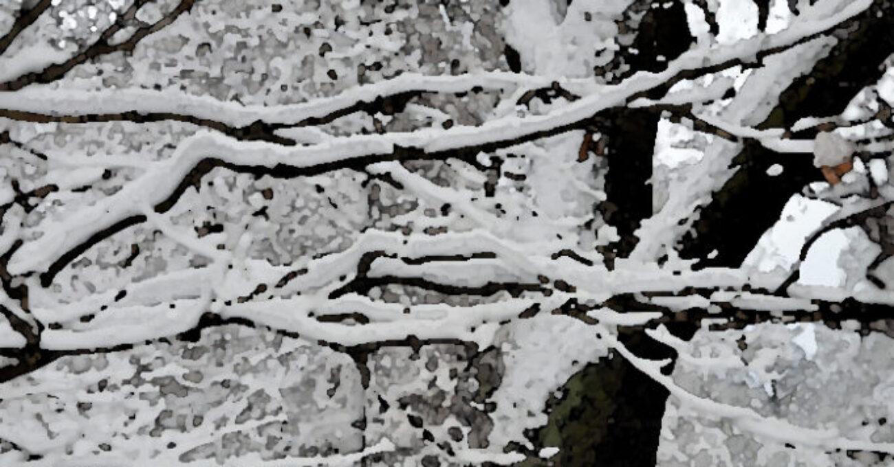 akvarell snölandskap 121129