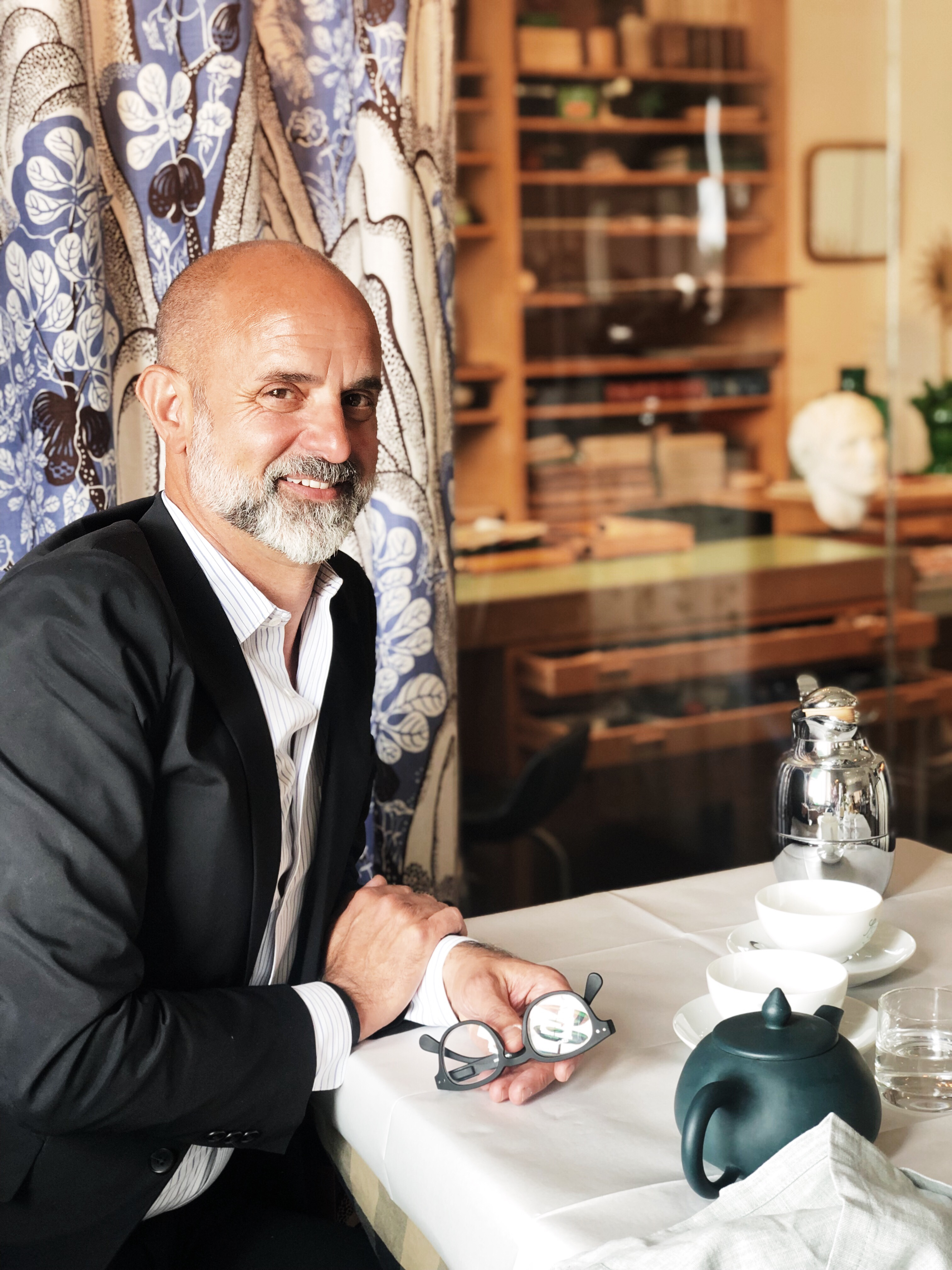 Inredningspodden möter Thommy Bindefeld, Svenskt Tenn