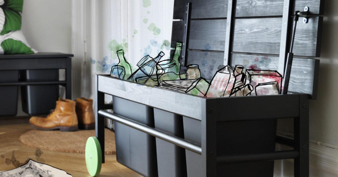 IKEA_ANVÄNDBAR_bänk_med_avfallssortering
