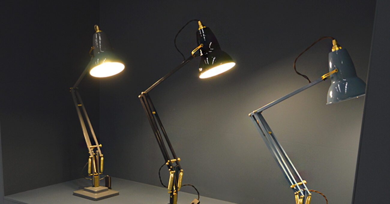 Anglepoise red