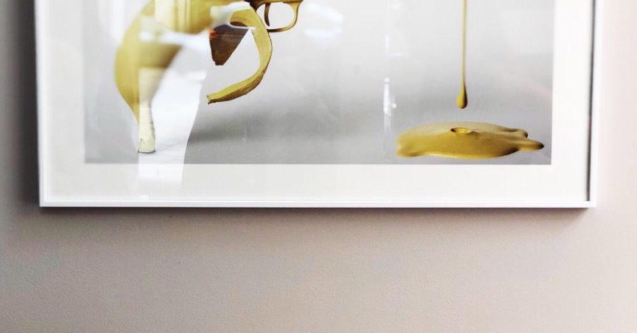 Skapa stilen med gula detaljer