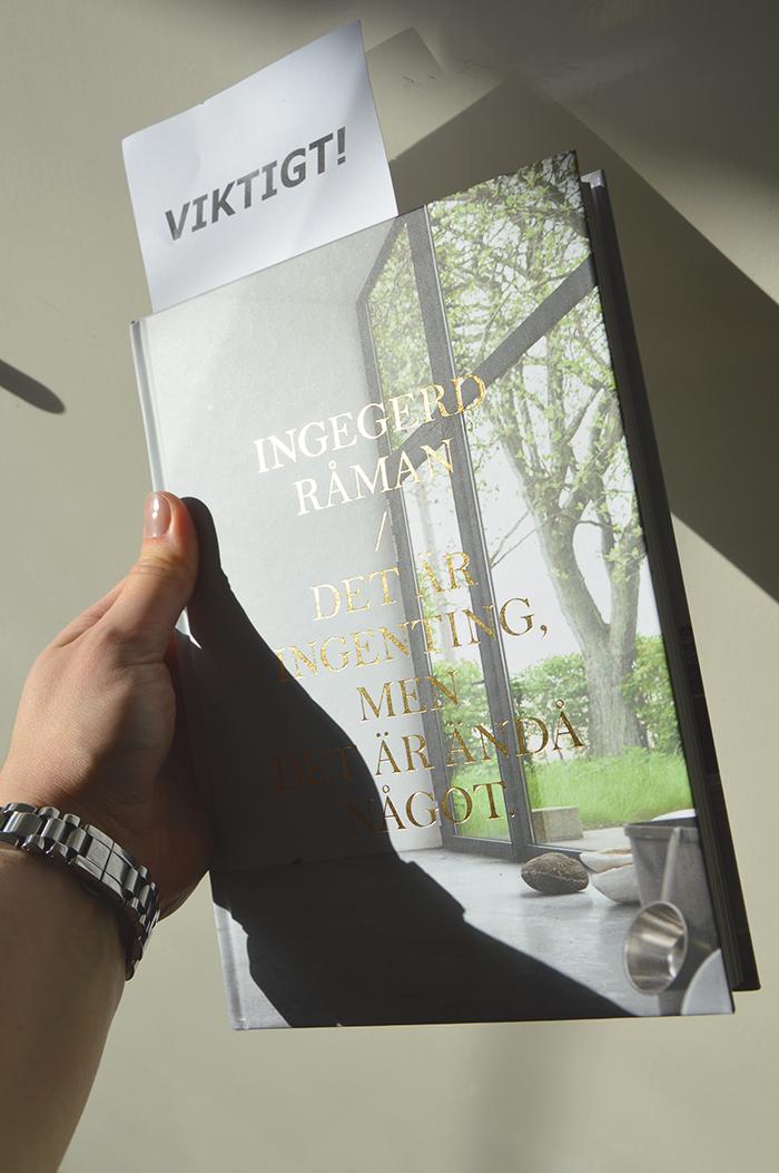 #boken#viktigt#ingegerdråman#inredningsblogg#joelhome