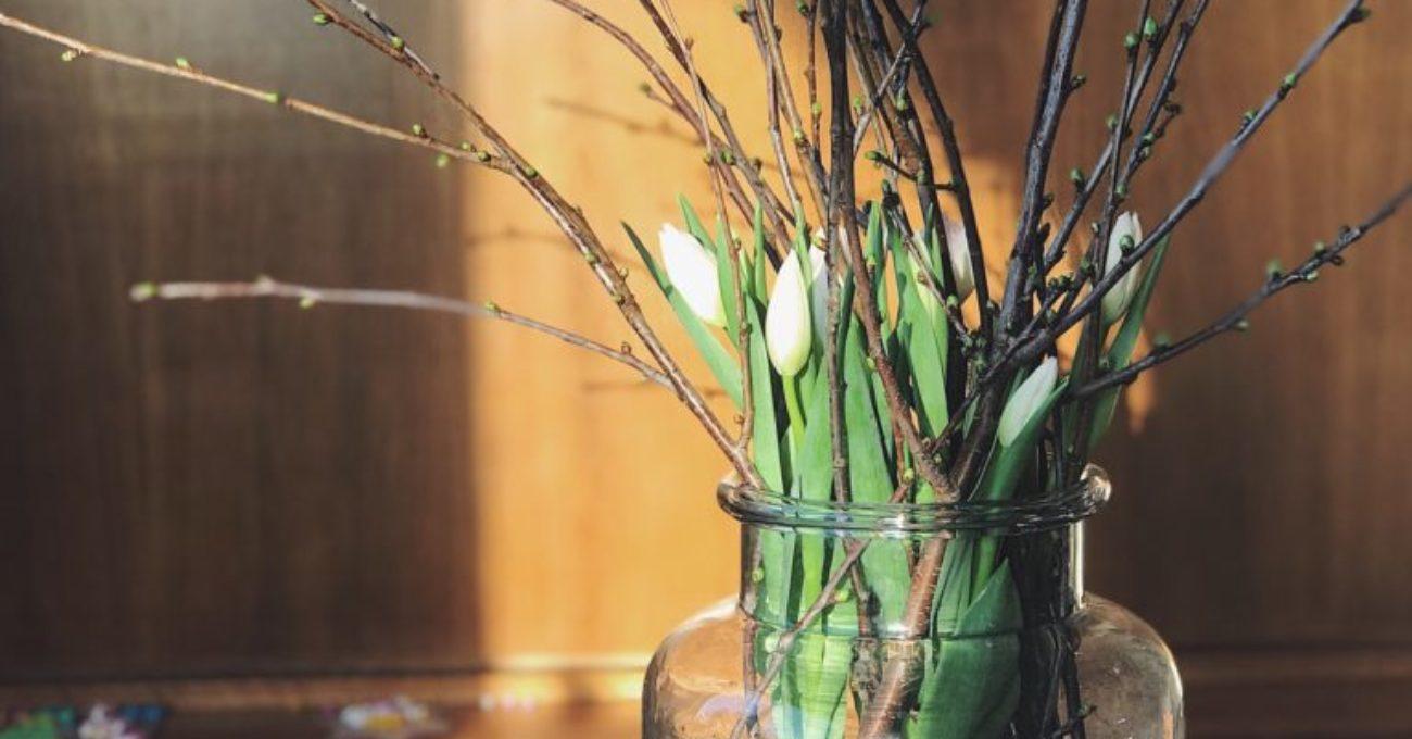 Budget blommor på 2 minuter – DIY