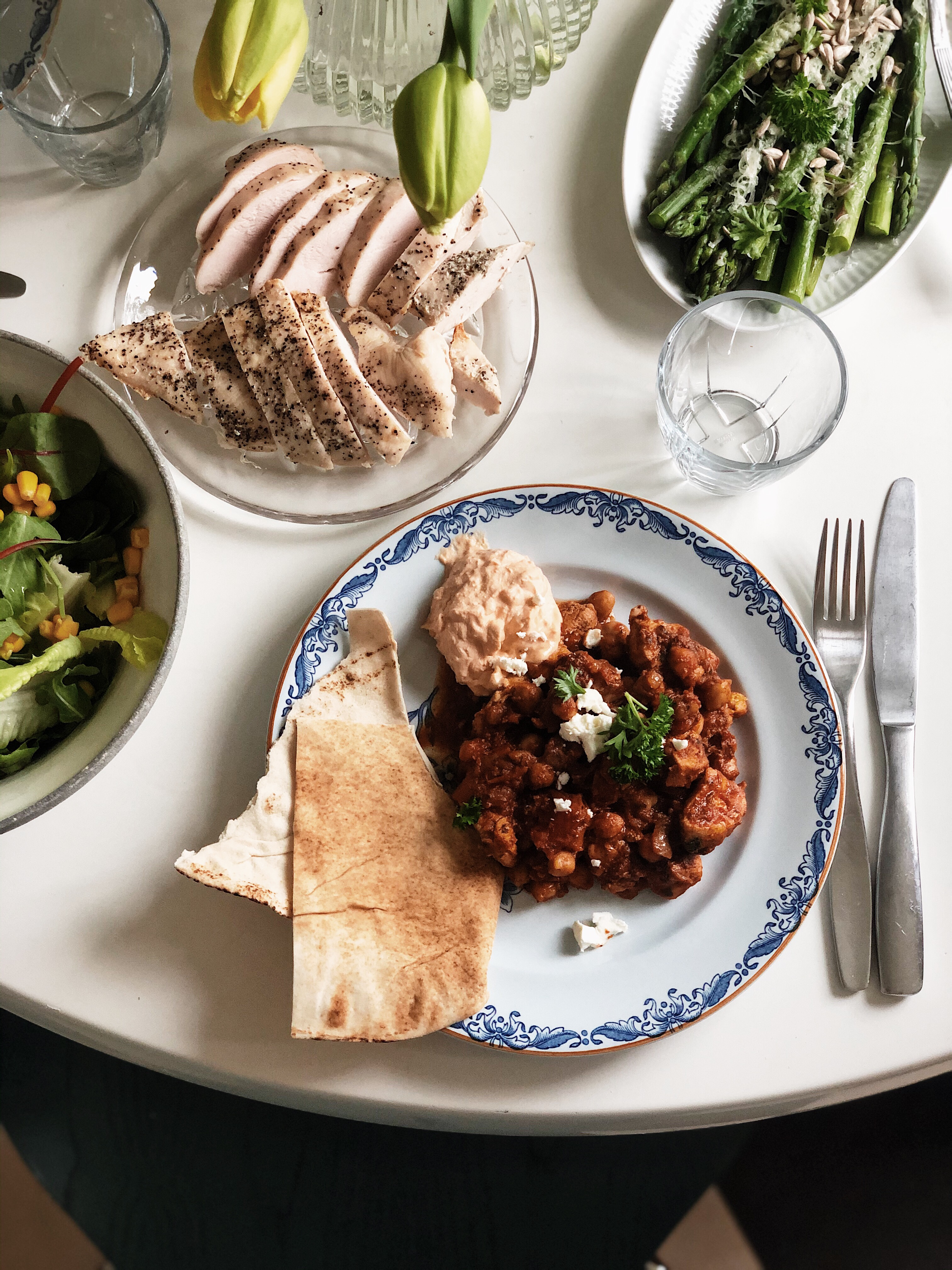 Vardagsmat – Marockansk kikärts- och kycklinggryta