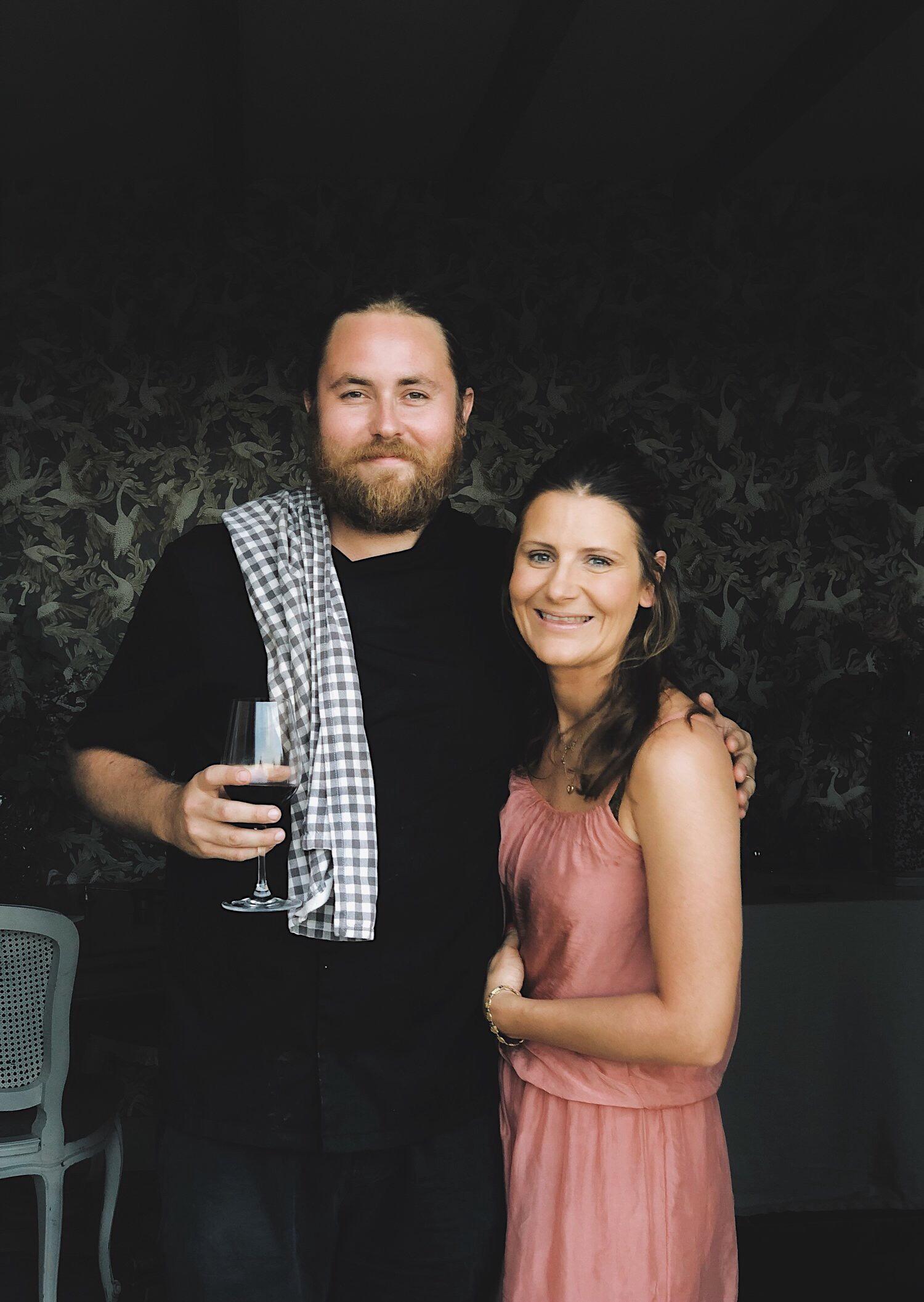 Inredningspodden möter Lisa och Niclas på Villa Juli