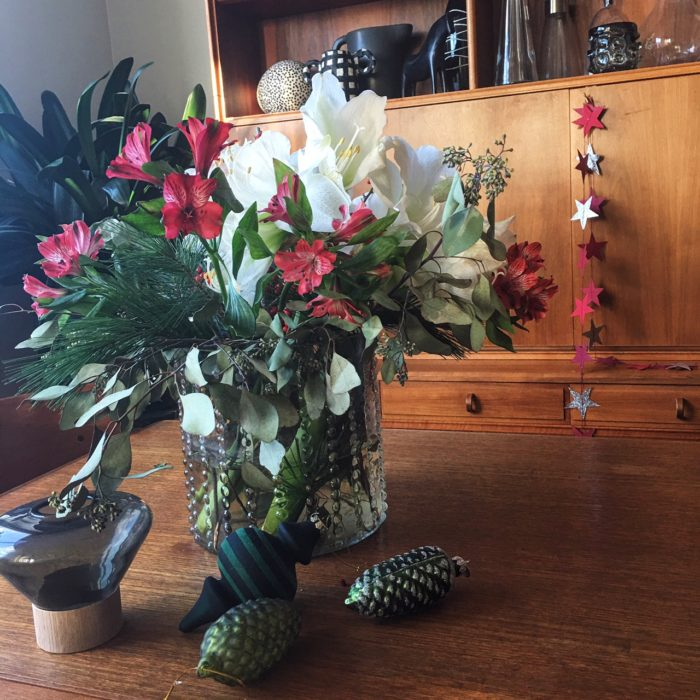 Amaryllis och julblommor