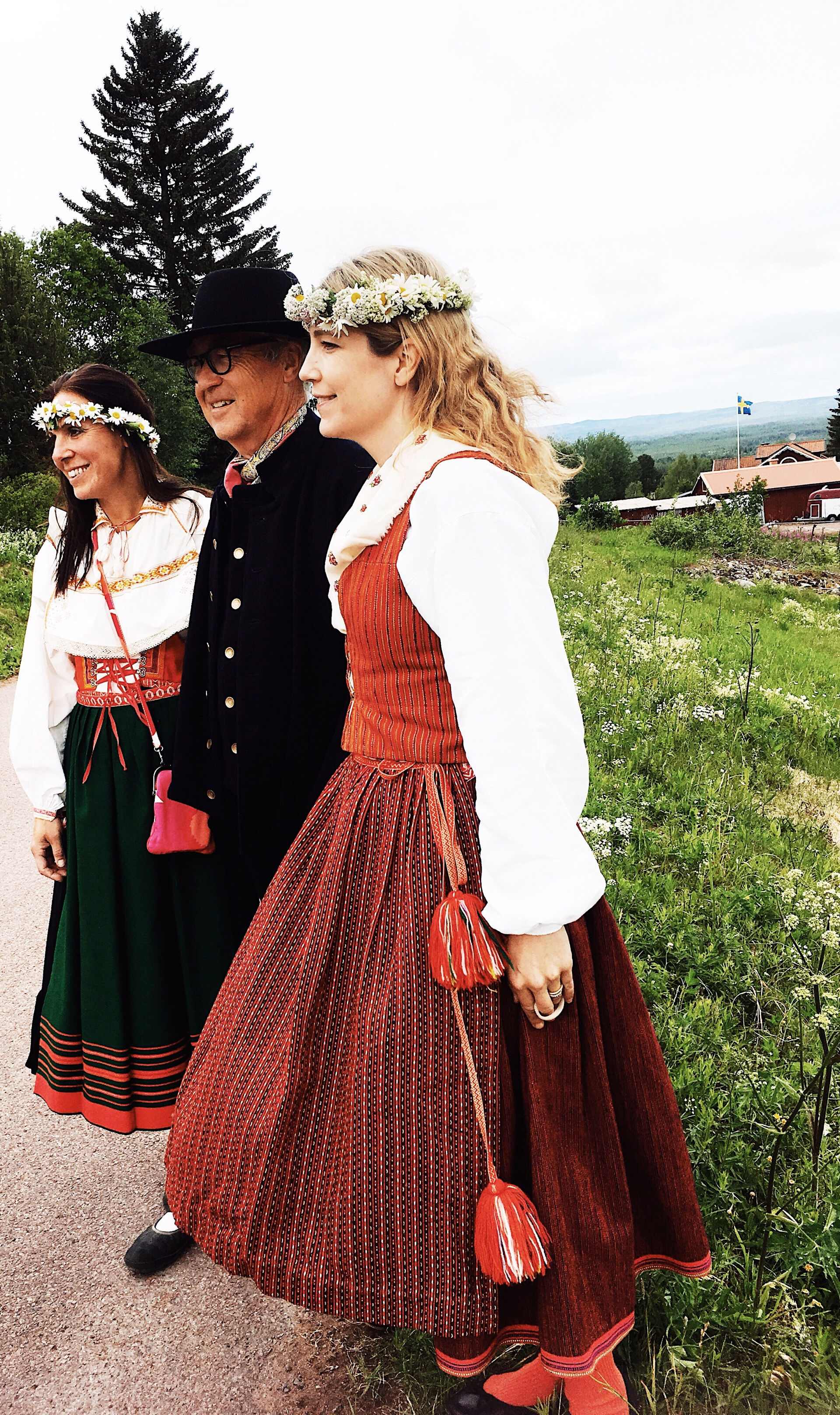 Midsommar  och #svemester i Dalarna