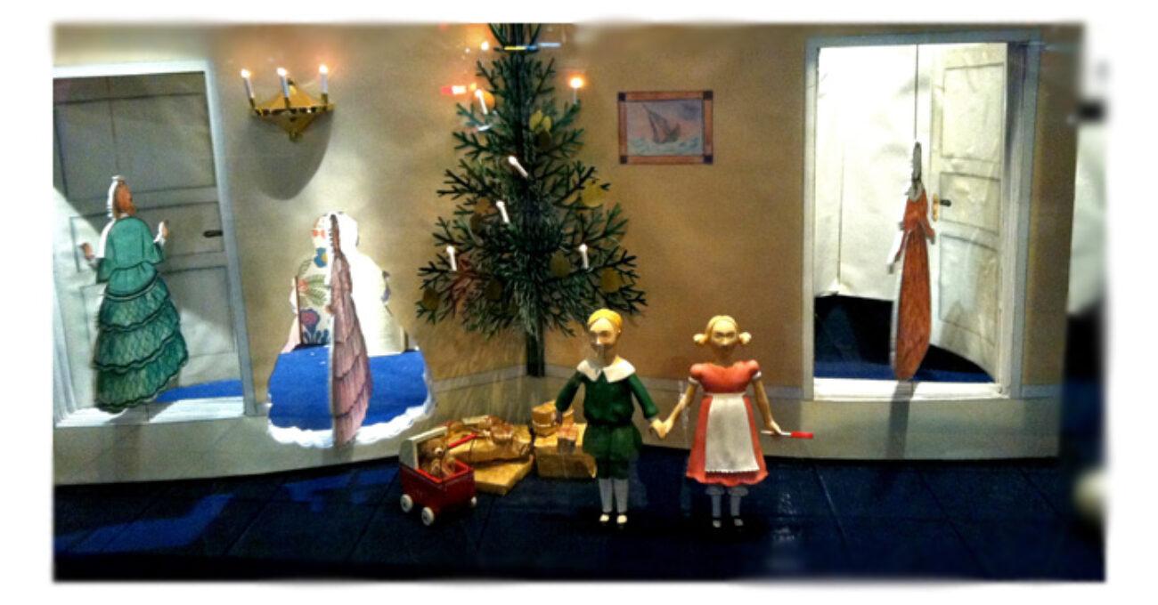 julskyltning Petter och Lottas jul blogg 121213