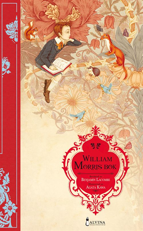 William Morris bok - en perfekt presentbok. Köp online hos www.joelhome.se