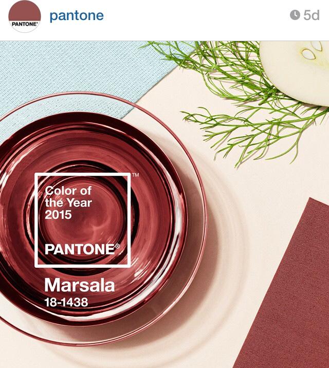 #pantone#marsala#color#inredningsblogg#joelhome