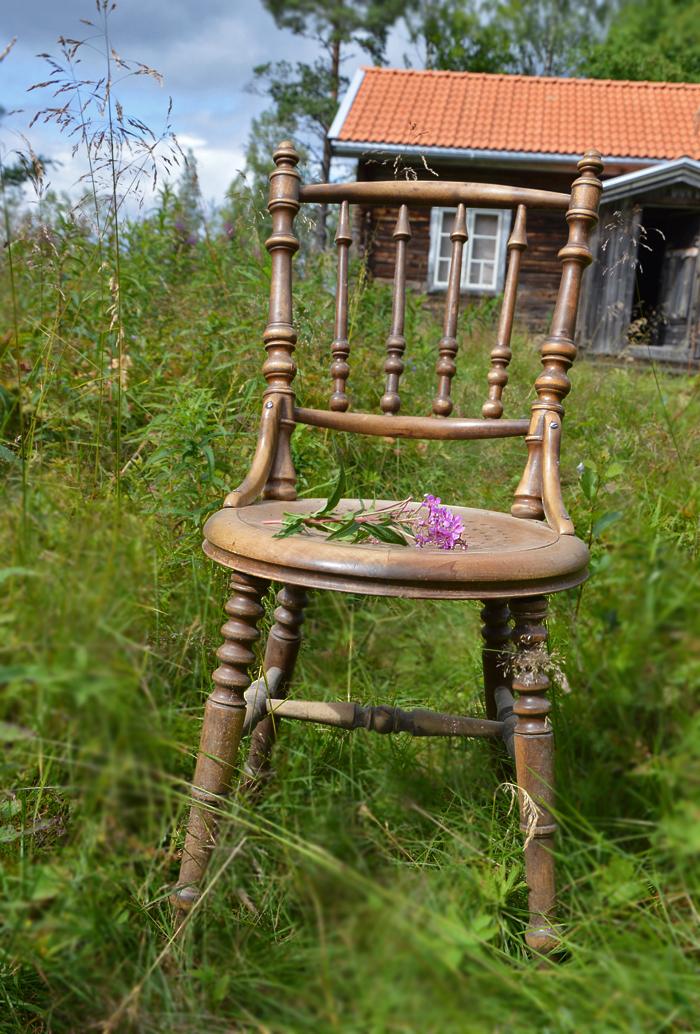 Pinnstolen från 100-åringen. Möbler med historia. #joelhome